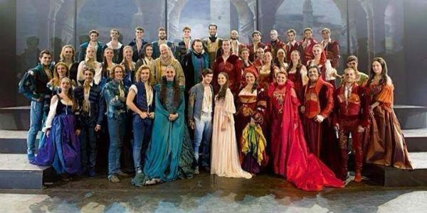 Cast dello spettacolo Romeo e Giulietta - Ama e cambia il mondo