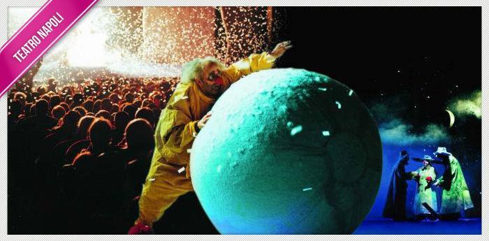 Locandina dello spettacolo Slava's Snow show al Teatro Bellini di Napoli
