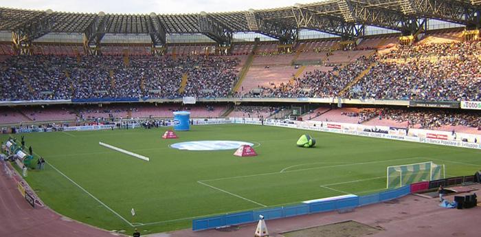 стадион Сан Паоло в Неаполе