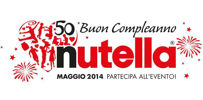 Poster of the party for the 50 years of Nutella