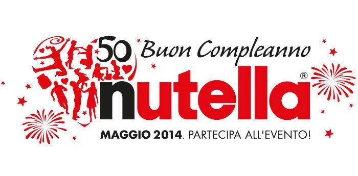 Locandina della festa per i 50 anni di Nutella