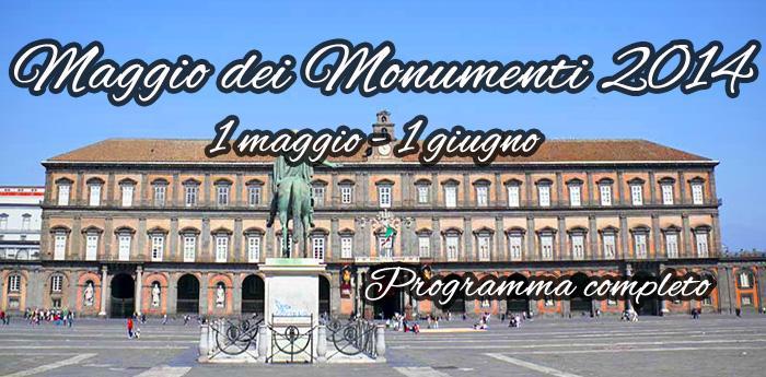 La locandina del Maggio dei Monumenti 2014 a Napoli