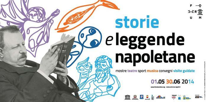 Locandina del Maggio dei Monumenti 2014 a Napoli