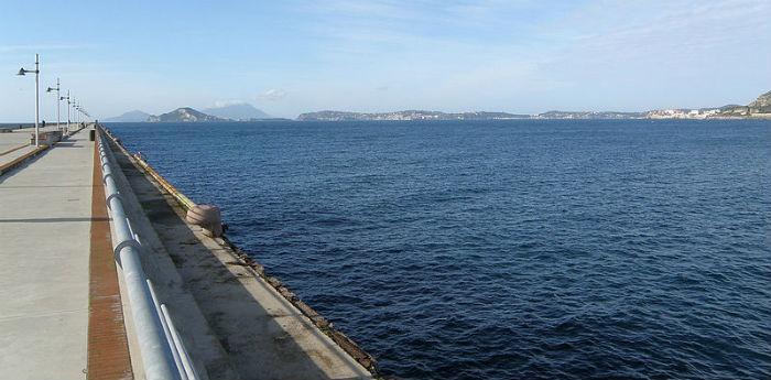 Il Pontile Nord di Bagnoli riaperto per le feste di Pasqua a Napoli