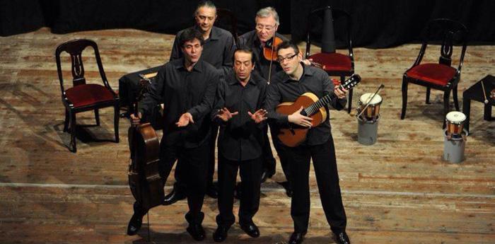 Il quintetto de I Virtuosi di San Martino al Teatro Sancarluccio di Napoli
