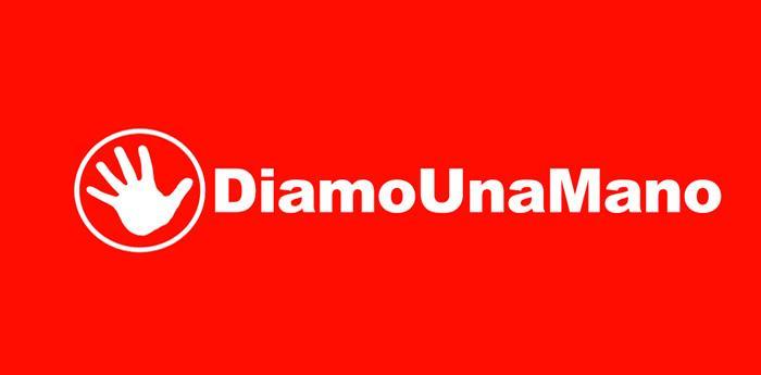 logo dell'associazione Diamo una mano