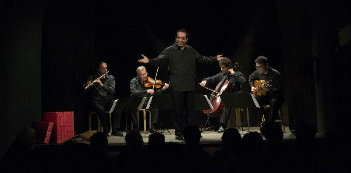 Il quintetto musicale I Virtuosi di San Martino in scena al Teatro Sancarluccio di Napoli