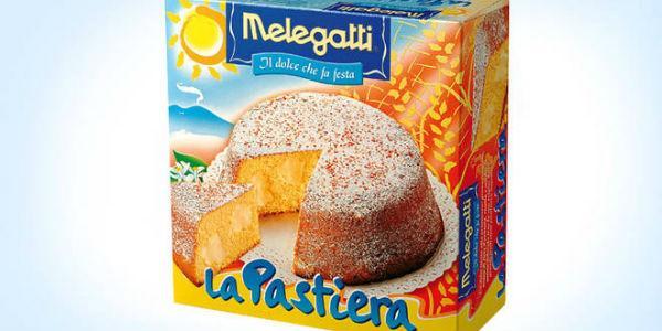 La scatola della Pastiera Napoletana messa in vendita da Melegatti