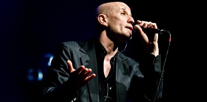 Il cantante napoletano Peppe Servillo