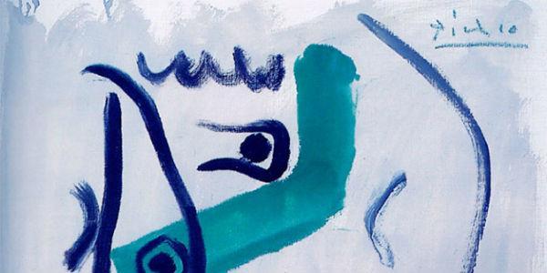 Moschettiere, quadro di Picasso in mostra a Sorrento Villa Fiorentino