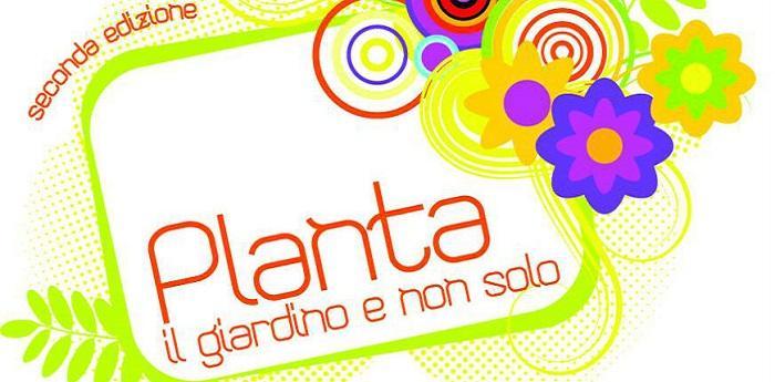 Locandina della mostra mercato Planta 2014 all'Orto Botanico di Napoli