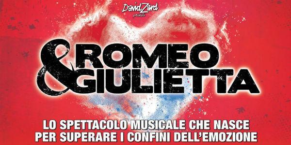 Locandina del musical Romeo e Giulietta al Teatro Palapartenope di Napoli