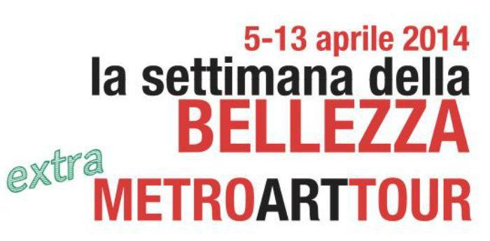 Locandina dell'evento La Settimana della Bellezza 2014, a Napoli visite guidate al metrò dell'arte