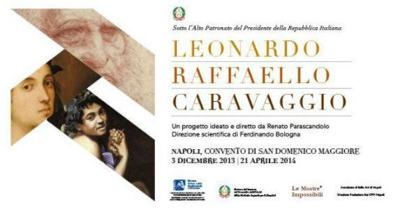 Locandina della mostra Una mostra Impossibile a San Domenico Maggiore a Napoli