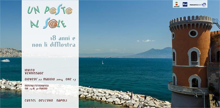 locandina 18 anni e non li diMOSTRA su Un posto al sole a Napoli