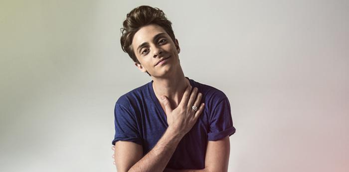 il cantante Alessandro Casillo