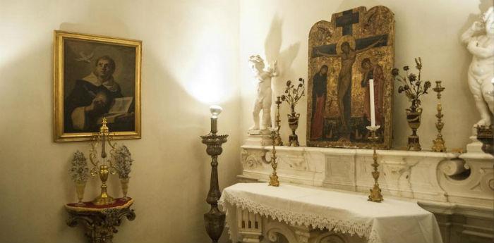 La cella di San Tommaso d'Aquino a San Domenico Maggiore per il Maggio dei Monumenti