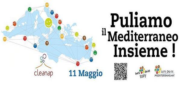 L'iniziativa Let's do it Mediterranean anche a Napoli alla Rotonda Diaz