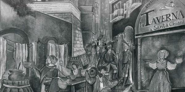 La Taverna a Santa Chiara per il Fesival delle apste Come il maggio sui maccheroni