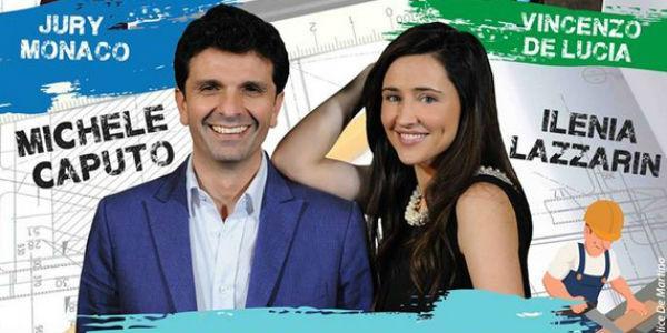 Michele Caputo e Ilenia Lazzarin nello spettacolo Come sopravvivere ai lavori in casa