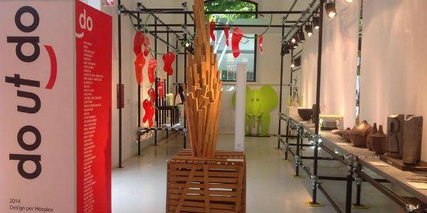 Una sala della mostra Do ut do 2014