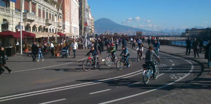 Lungomare Liberato di Napoli, domeniche ecologiche da maggio ad agosto 2014