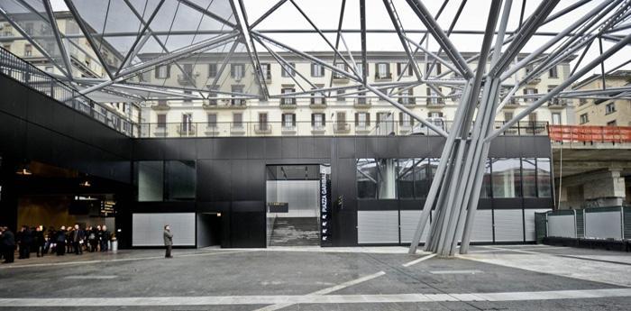 stazione della metro linea 1 a piazza garibaldi a napoli