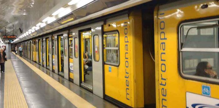 La metropolitana linea 1 di Napoli