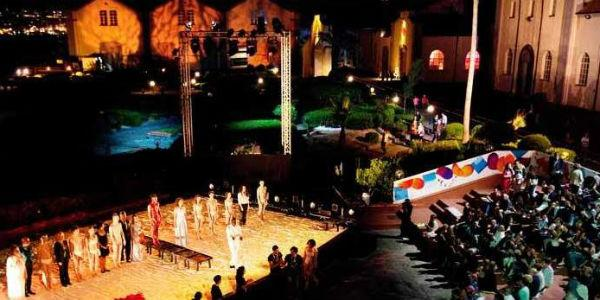 Spettacolo del Napoli Teatro Festival