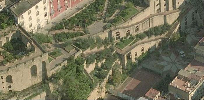 veduta aerea del parco ventaglieri