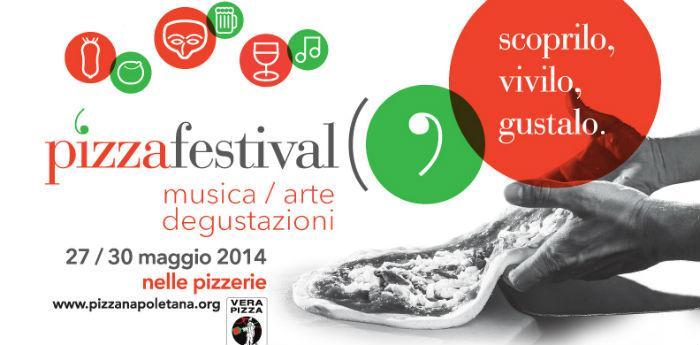 Locandina della kermesse Pizzafestival, il festival mondiale della pizza napoletana