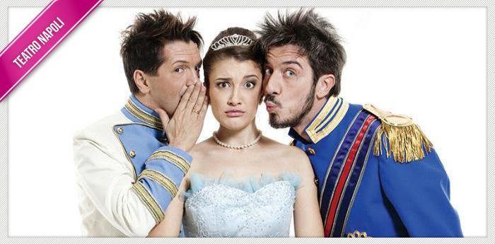 Paolo Ruffini in scena al Teatro Augusteo con AAA Cercasi Cenerentola