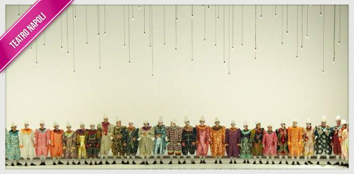 Una scena dello spettacolo Pagliacci al Teatro San Carlo di Napoli
