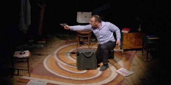 Una scena dello spettacolo Tentata Memoria al teatro Interno 5