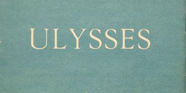 La copertina del romanzo Ulisse di James Joyce