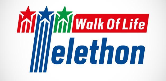 logo della maratona Walk of Life Telethon 2014