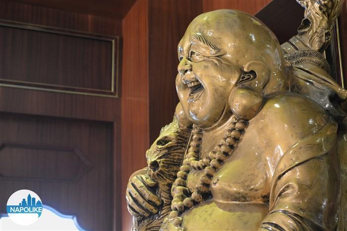 statua buddha ristorante cinese la città d'oro