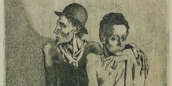 La Suites dei Saltimbanchi di Picasso in mostra a Sorrento