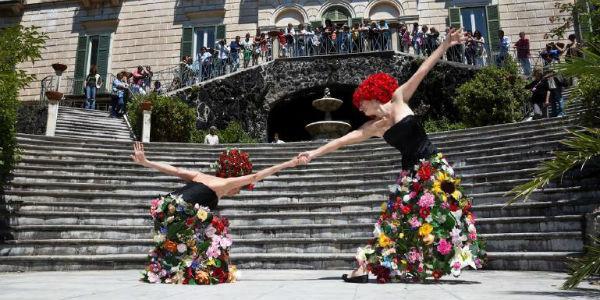 Rassegna di danza A piedi nudi nel parco in Villa Floridiana a Napoli