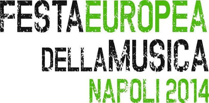 Locandina della Festa Europea della Musica 2014 a Napoli