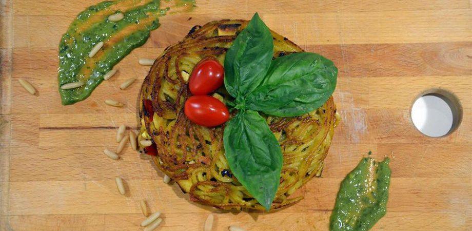 Giri pasta frittatina en Nápoles