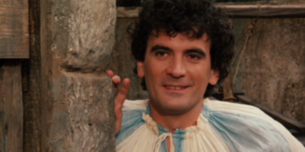 Massimo Troisi nel film Non ci resta che piangere