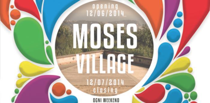 Locandina del Moses Village al Parco dei Camaldoli di Napoli