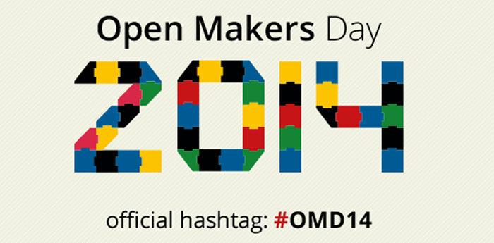 locandina di Open Makers Day 2014 a Napoli