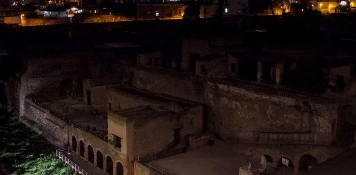 Visite guidate notturne negli Scavi di Ercolano