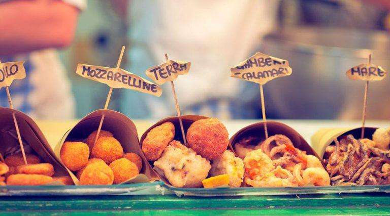 The best street food in Naples