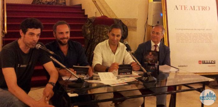 Conferenza stampa di presentazione della nuova stagione teatrale del Teatro Bellini