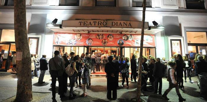 Teatro Diana di Napoli, al Vomero