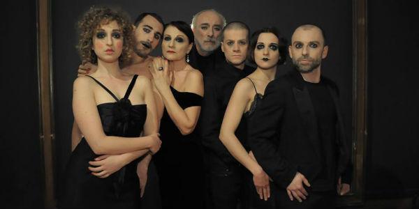 Il cast di Un Gabbiano di Gianluca Merolli al Napoli Teatro Festival