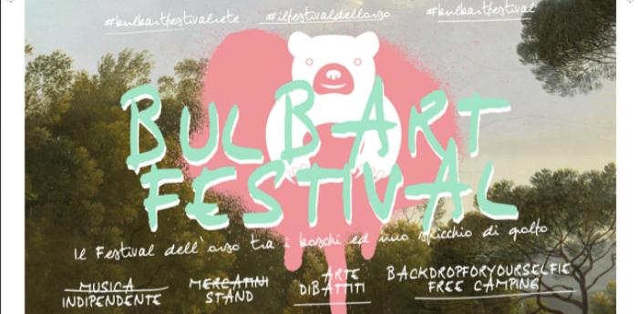 Locandina del Bulbart Festival nel Parco dei Camaldoli